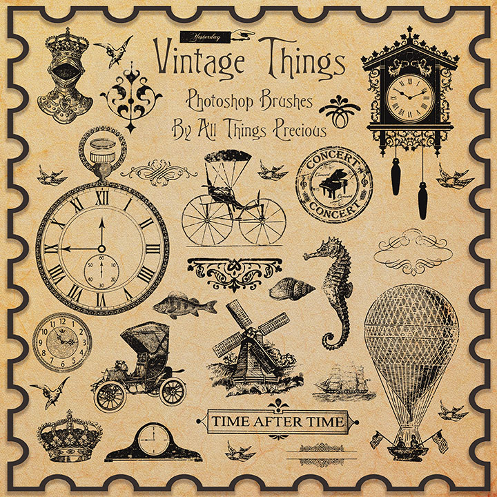 Scrap Vintage Things Picture