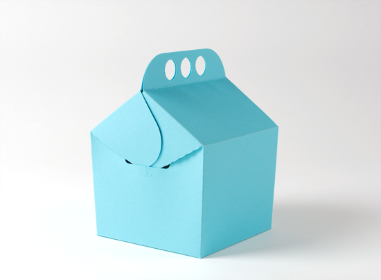 caja regalo self packaging
