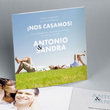 EASY - Invitaciones originales campo